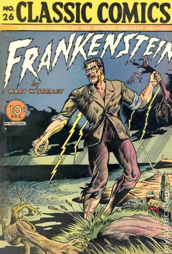 FRANKENSTEIN BEGINS
