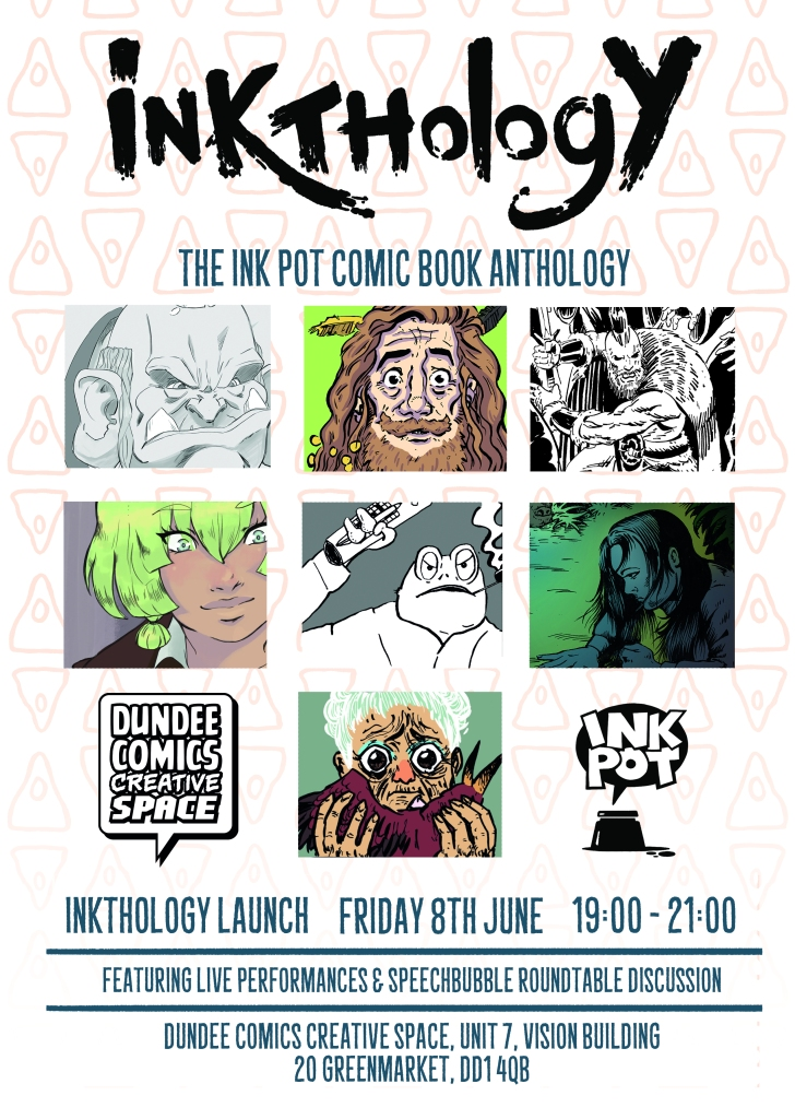 Inkthology Launch