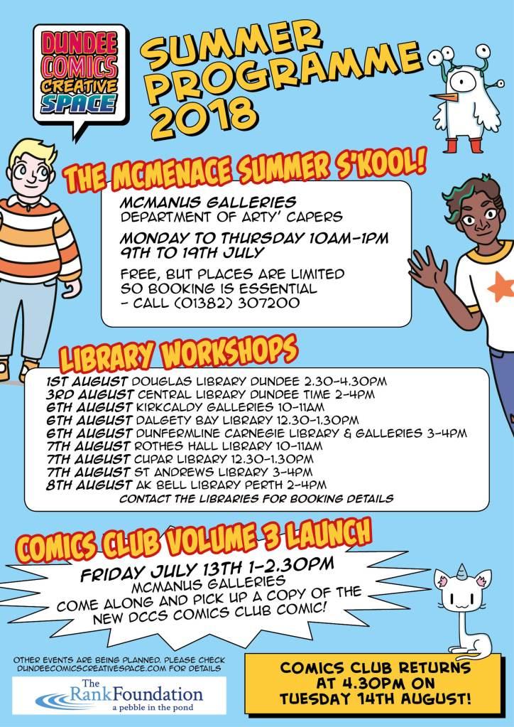 DCCS summer programme