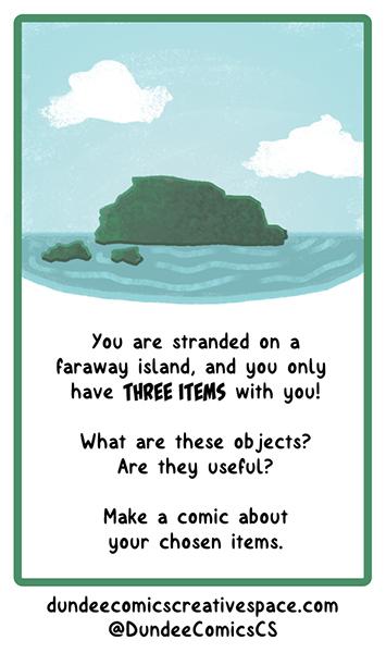 Desert Island Prompt